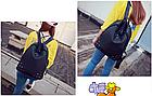 Рюкзак женский чёрный с фурнитурой Весна 2019, фото 6