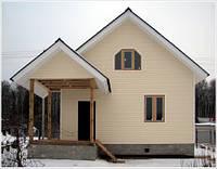 Дом 92 м.кв. фасад - сайдинг