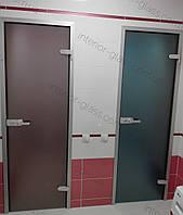 Стеклянные двери в коробке на заказ