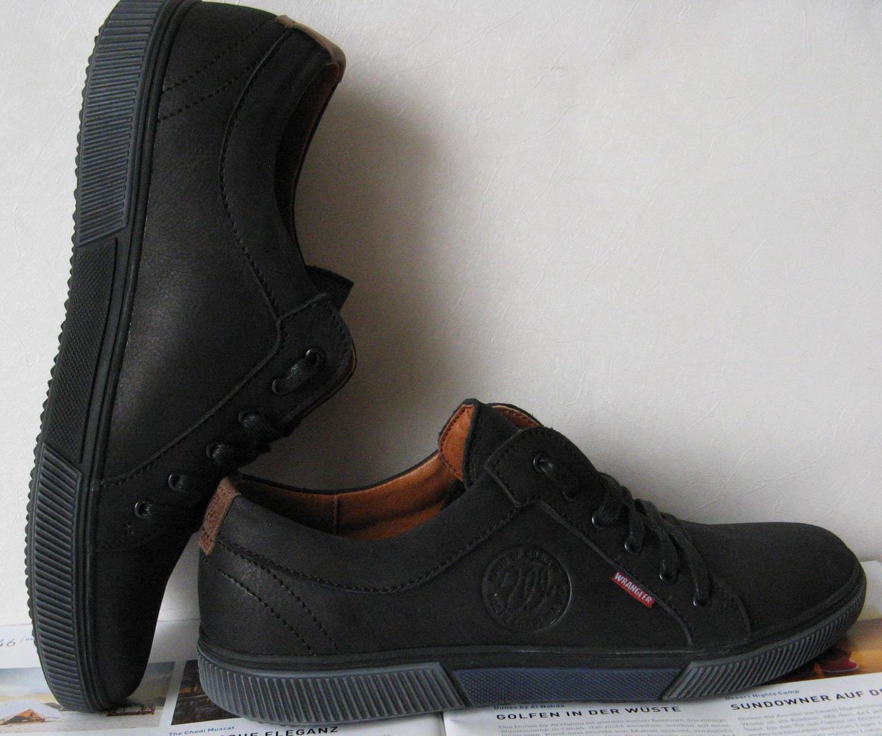 20aa1f2916d8 Мужские кеды весна осень обувь 2018 кожаные туфли в стиле Вранглер ботинки  черные, Wrangler!