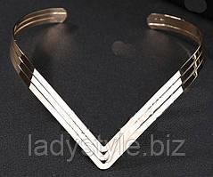 """Колье, ожерелье  """"Ацтек"""" от студии LadyStyle.Biz"""