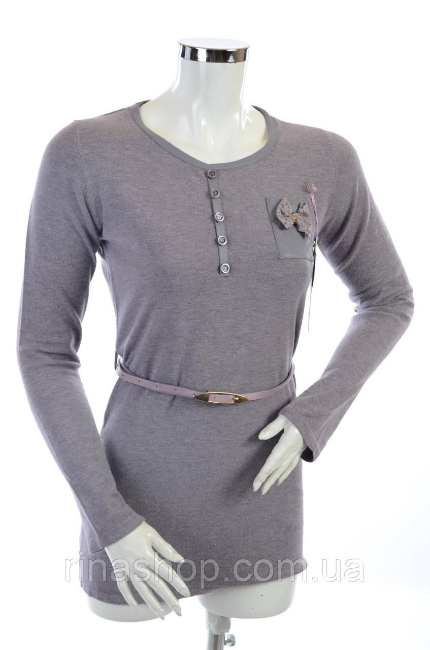 Женская кофта с вырезом Y2201