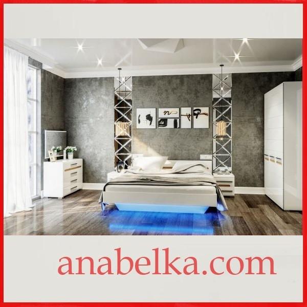 Спальня  Бьянко  (Світ Меблів)