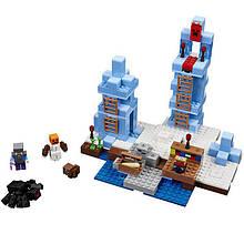 Конструктор Lepin «Minecraft Ледяные шипы (Серия Cubeworld)»386 дет.