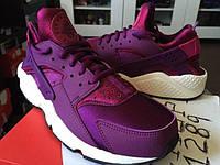 Женские кроссовки Nike Air Huarache purple