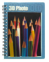 Блокнот 3D Карандаши А6 60л