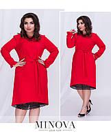 Платье нежное 48,50,52,54,56 много цветов