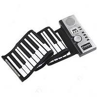 Гибкая MIDI клавиатура синтезатор пианино 61 кл. Хорошее качество. Доступная цена. Дешево. Код: КГ3572