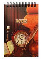Блокнот А6 Часы настольные 60л
