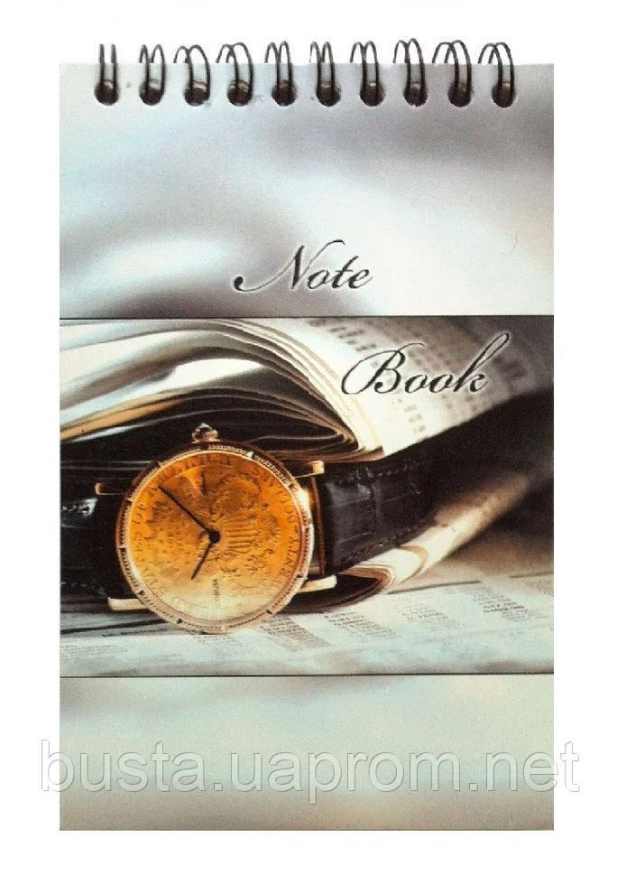 Блокнот А6 Часы наручные 80л