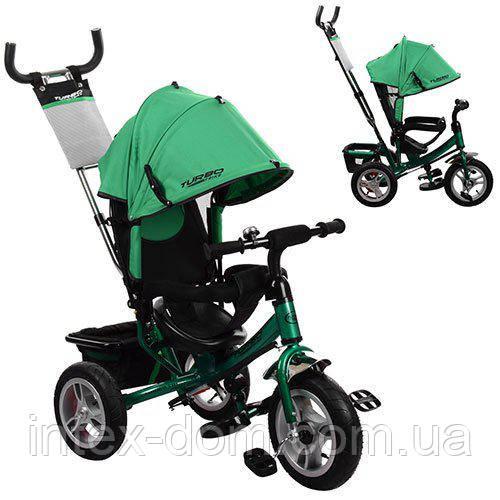 Детский трехколесный велосипед Turbotrike Зеленый (M 3113A-N4)