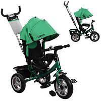 Детский трехколесный велосипед Turbotrike Зеленый (M 3113A-N4), фото 1
