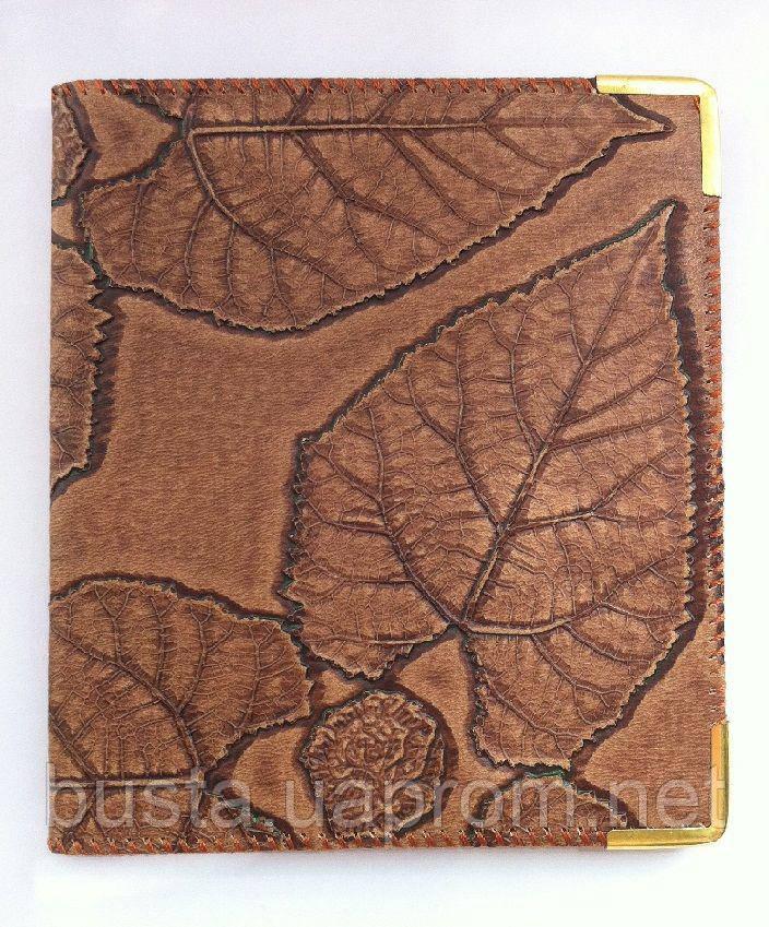 Визитница на 80 визиток Листья Skiper