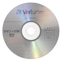 Диск DVD+RW Verbatim Slim Color