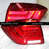 Альтернативная задняя оптика Toyota Highlander 2010-2012 тюнинг-оптика рестайлинг