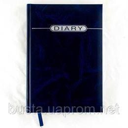 Щоденник напівдатований А5 DIARY синій мармур