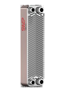 """Теплообменник паяный SWEP ВХ8Tx10/1P-SC-S (4*3/4""""&16), фото 2"""