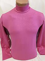 Гольф (водолазка) мужской, вискоза, розовый