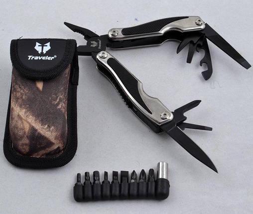 Многофункциональный нож (мультитул) с комплектом бит MT842, фото 2