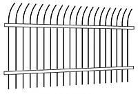 Забор металлический сварной