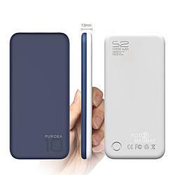 Power Bank — Puridea S2 10000 mAh Blue and White