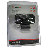 Web камера  REAL-EL FC-250 Black  USB;1280x960;1.3Mp(с микрофоном)