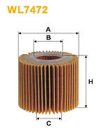Фильтр масляный TOYOTA WL7472/OE685/2 (Производство WIX-Filtron) WL7472