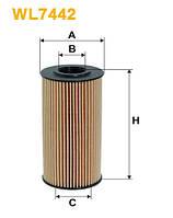 Фильтр масляный KIA CERATO, CEED, RIO III WL7442/OE674/2 (производство WIX-Filtron), AAHZX