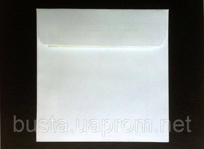 Конверт 127 на 127мм белый скл