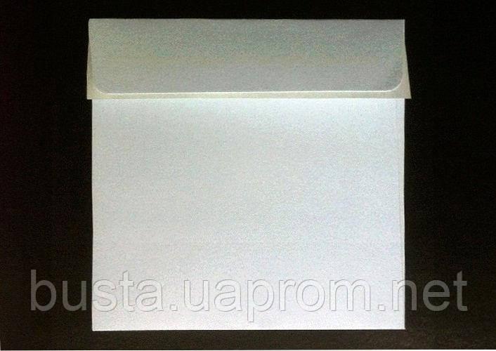 Конверт 100 на 100мм белый