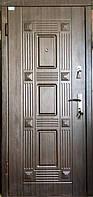 Двери входные квартира металлические (эконом) Жаклин венге