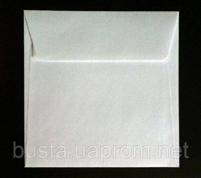 Конверт К8 150 на 150мм белый скл
