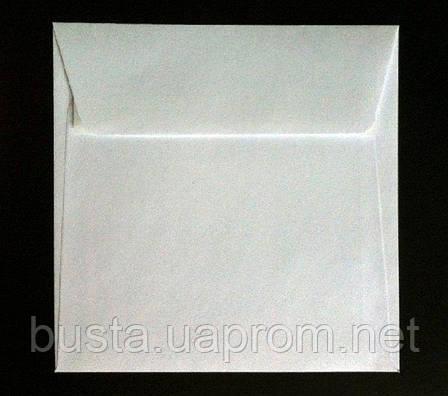 Конверт К8 150 на 150мм белый скл, фото 2