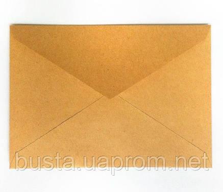 Конверт с треугольным клапаном С6 крафт, фото 2