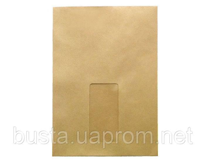 Конверт-пакет з віконцем С5