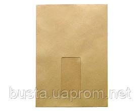 Конверт-пакет с окошком С5