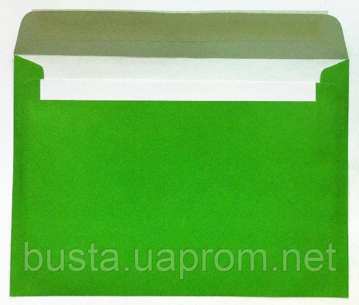 Конверты С5 зеленые