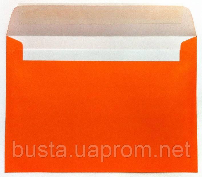 Конверты С5 оранжевые