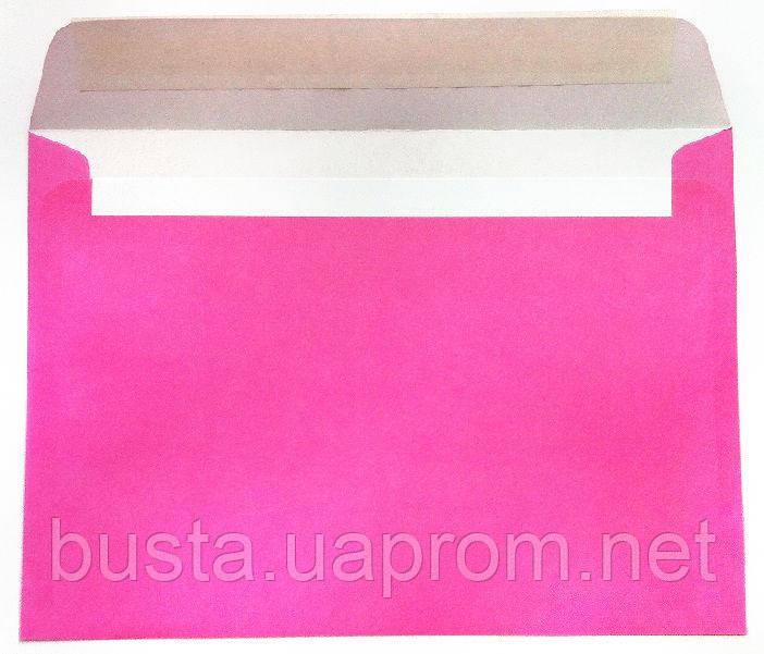 Конверты С5 розовые