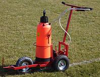 Машинка для разметки футбольного поля