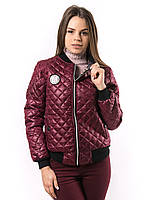 Женская весенняя куртка бомбер пр-во Украина  KD382
