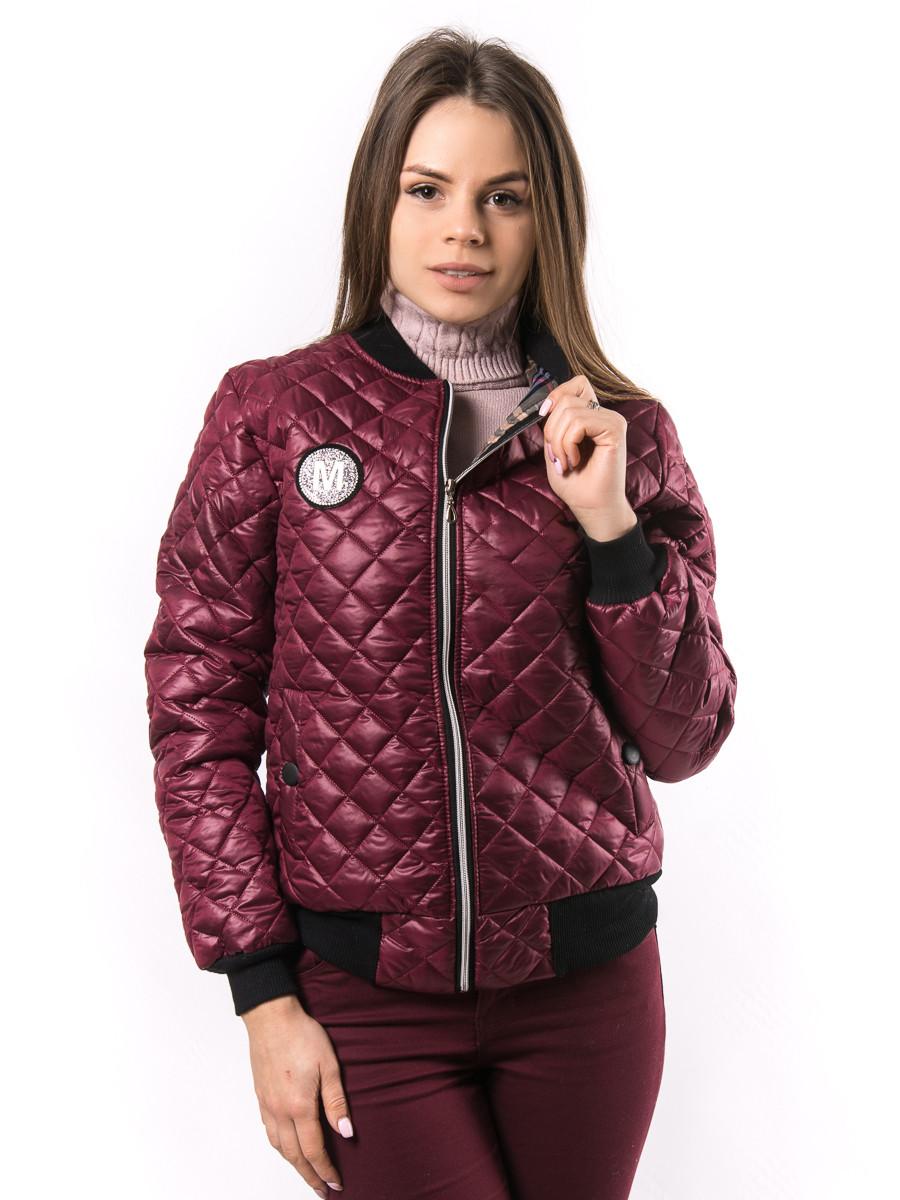 6d868f7e9fc Женская весенняя куртка бомбер пр-во Украина KD382 - Оптово-розничный  интернет-магазин