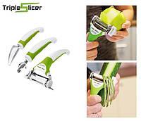 Набор ножей Triple slicer 3 шт