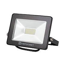 Светодиодный прожектор LED 20W 6400K Евросвет STANDART О