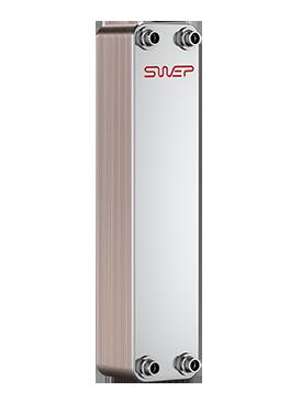 """Теплообменник паяный  SWEP B25Tx50/1P-SC-S (4x1 1/4""""&22U)"""