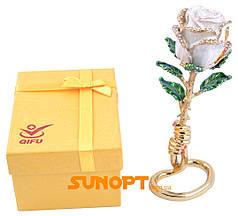 Шкатулка Белая Роза №2554-2