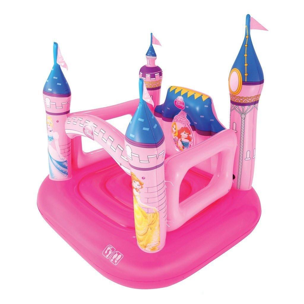 Детский надувной батут BestWay 91050 «Замок Принцессы», 157 х 147 х 163 см