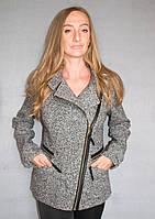 Пальто женское №54 (серый)