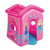 Детский надувной домик Bestway 93208 «Барби» 150 х 135 х 142 см