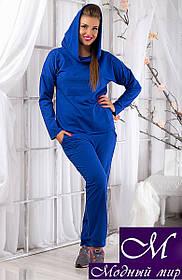 Женский спортивный костюм больших размеров (р. 50, 52, 54) арт. 9937